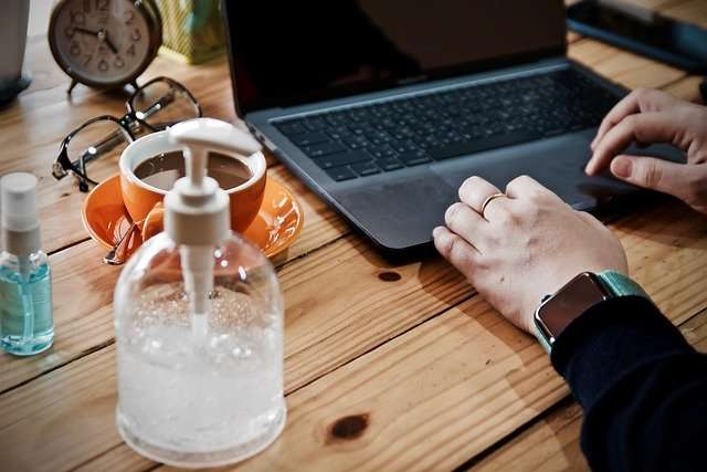 Working from Home Cyber Security Blog Image